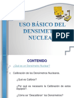 Presentacion Basica Uso Densimetro Nuclear.