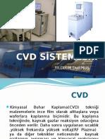 Cvd Ve Cvd Si̇stemleri̇ Sunum