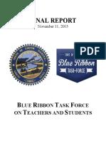 Blue Ribbon Report - Final