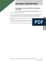 04 Marking Criteria Descriptors