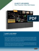 Clarity Led Series Videowall PLANAR Datasheet