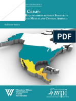 A Review of the Relationships Between Insecurity and Development in Mexico and Central America