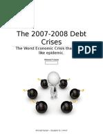 2007-2008 Financial Crises
