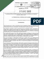 Decreto 2568 Del 31 de Diciembre de 2015