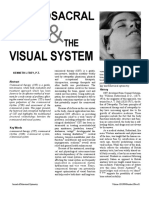 craniosacral therapy   the visual system article