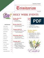 The Trinitarian - Spring 2010