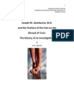 Joseph M. Gembescia, M.D. and the Position of the Feet on the Shroud of Tuirn