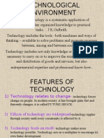 Nature and Impact of Technology