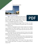 Gedung Tertinggi Sedunia Burj Dubai Diresmikan