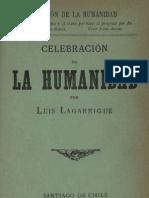 Lagarrigue Celebracion de La Humanidad