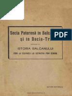 Isidor Iesan - Secta Paterena in Balcani Si Dacia Traiana