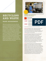 Recycling and Waste(Practical Data)