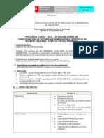 PROCESO CAS N° 032 - PROFESIONAL INGENIERO CIVIL PATRIMONIO