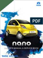 TATA Nano Owners Manual