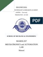 Mct & Automation MAMGL 207 Manual