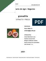 Agronegocios Con Granadilla