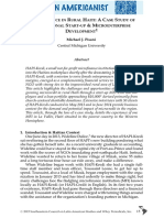 Microfinance in Rural Haiti- A Case Study of Institutional Start‐Up & Microenterprise Development