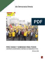 Plan de Gobierno de Gregorio Santos