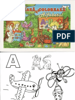 Deseneaza Si Coloreaza Alfabetul 5-7aniSCOS
