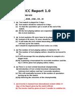 ICC Report 1