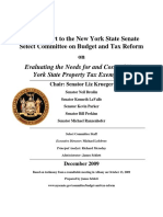 Evaluating the Needs for and Costs of New York State Property Tax Exemptions