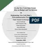Modernizing New York State's Telecommunication Taxes