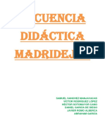 Secuencia Didáctica Madridejos
