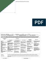 Planificación Educativa Anual Gubernamental 2016