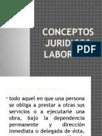 Conceptos Juridicos- Laborales