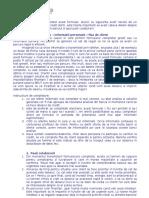 Fisa Client - Scoring Informatii Personale - COMPLETATA