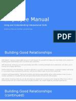 employee manual project