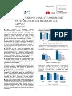 Integrazione Degli Stranieri Nel Lavoro - 28_dic_2015 - 2' Trimestre 2014