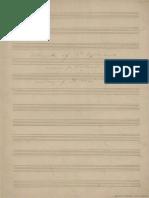 Grieg - Allegretto (for Cello and Piano Grieg's Manuscript)