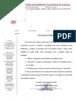BVL - Convocatória Assembleia Geral Ordinária 29-01-2016
