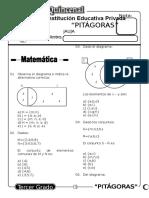Examen Quincenal (03) 3er Grado 11-04-09