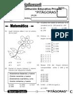 Examen Quincenal (10) 3er Grado 05-09-09