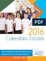 Calendario Esc.2016 Con Cara 3