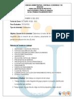 Guia de Actividades y Rubrica de Evaluacion Trabajo Colaborativo Nro 1 2012 II