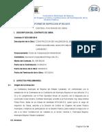 Informe Tecnico de obra (inspeccion)