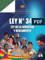 Ley 342 de la Juventud y Reglamento