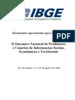 A Produção de Estatísticas Sobre Pessoas Com Deficiência