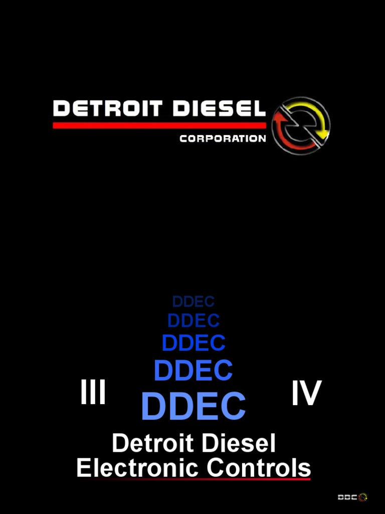 Ddec Master 2000 Current4 6 Fuel Economy In Automobiles Series 53 Detroit Diesel Engine Wiring Injection