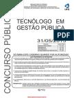 Tecnologo_gestao_publica 2015 - PROVA