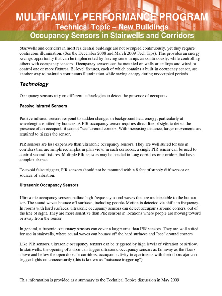 Senzori prisustva | Lighting | Equipment