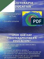 Fisioterapia Educativa - Presentacion