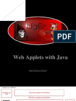 Creating Web Applets With Java
