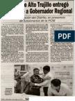 06-05-15 Alcalde de Alto Trujillo entregó expediente a Gobernador Regional