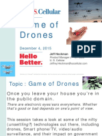 WI DGS 15 Presentation - Game of Drones - Heckman