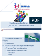 WI DGS 15 Presentation - Mobile Apps the Smart Way - Keuler
