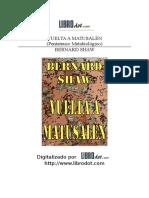 GEORGE BERNARD SHAW- Vuelta a matusalen.doc